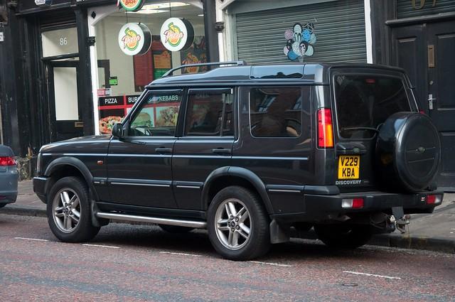The original Land Rover Discovery