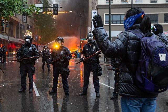 Black Lives Matter Protest, Seattle WA