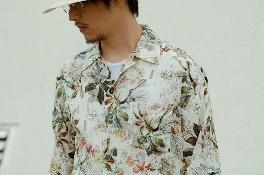古巴領花襯衫