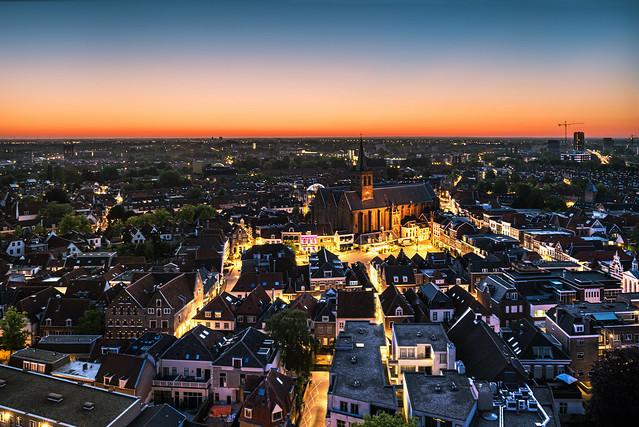 Amersfoort city lights
