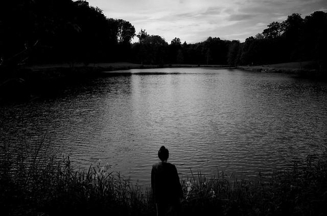 am See #kwerfeldein52 Thema 21:Silhouetten