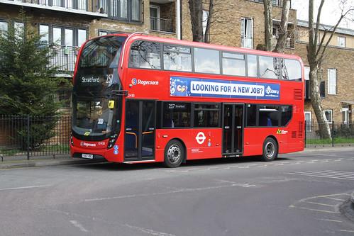 Stagecoach London 12430 YX67VBG