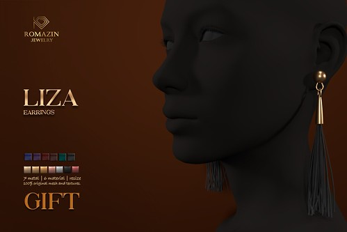 Romazin - Earrings <Liza>, GIFT