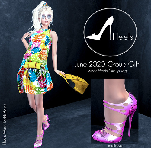 Heels June 2020 Group Gift *now at mainstore*