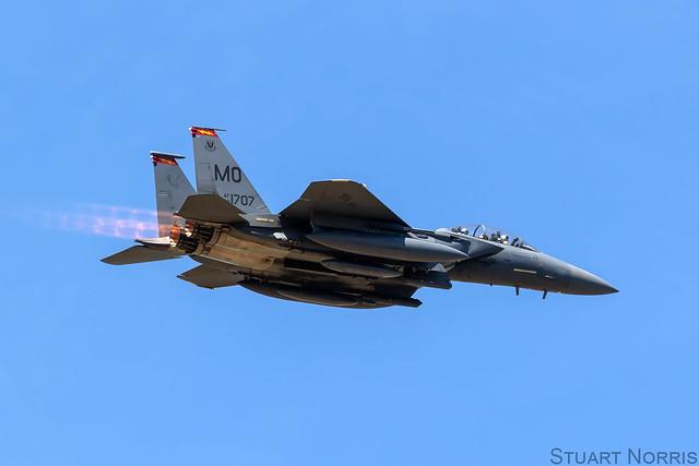 F-15E Strike Eagle 88-1707 - 389th Fighter Squadron Mountain Home AFB