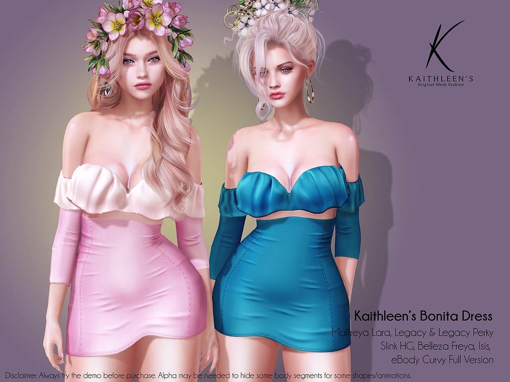 Kaithleen's Bonita Dress Poster web