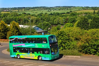 Go North East Tyne Valley Ten 6079 / NK62 FHY