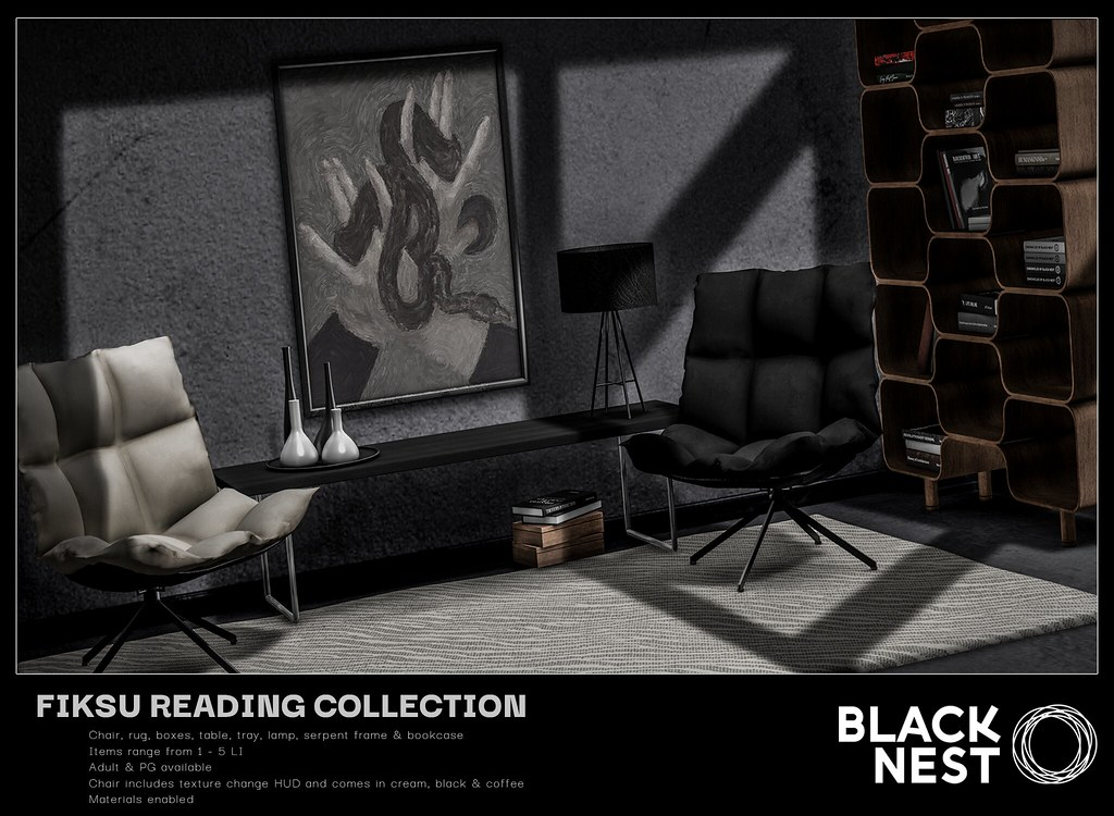 BLACK NEST / Fiksu Reading Collection / FaMESHed