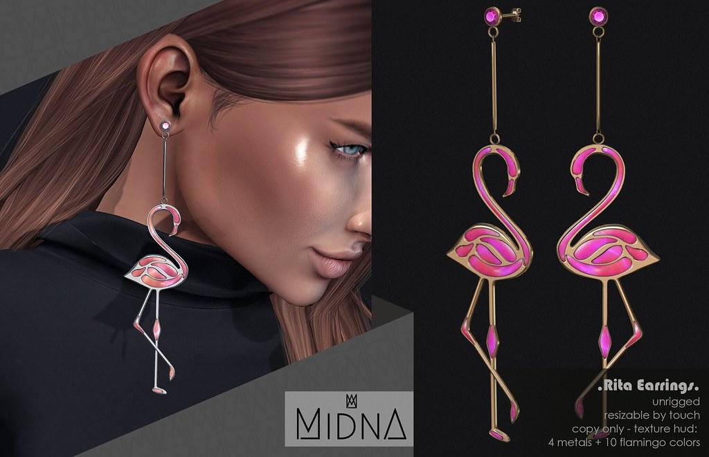 Midna – Rita Earrings