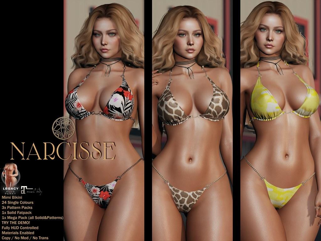 -Narcisse- Mimi Bikini @ Fameshed