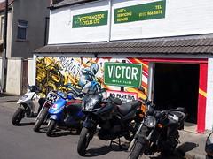 Motorcycle shop in Bedminster, Bristol