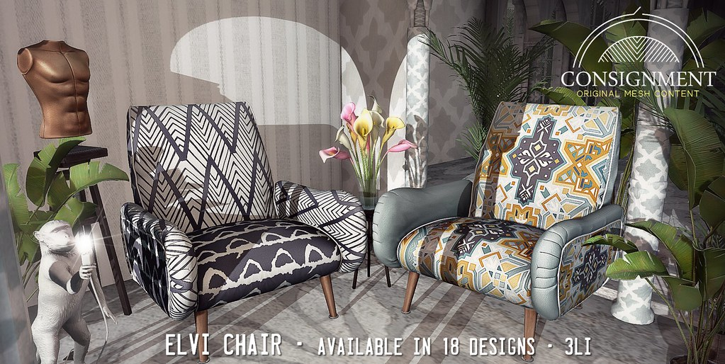 Elvi Chair – Out now @ FaMESHed