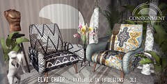 Elvi Chair - Out now @ FaMESHed