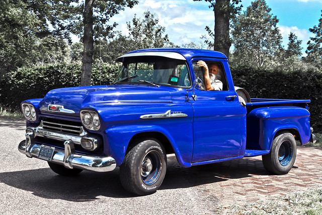 Chevrolet 3100 Apache Stepside Pick-Up Truck 1958 (6265)