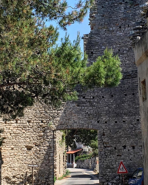 Roman palace, beginning of V century CE, island of Mljet, Southern Dalmatia, Croatia