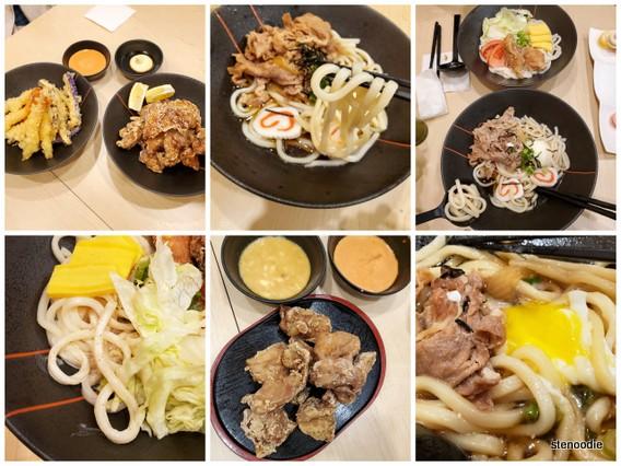 Udon Kitanoya food