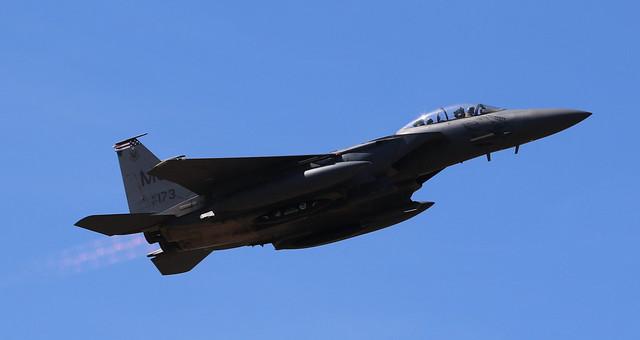 McDonnell F-15 Eagle 87-0173 Lakenheath 29/05/20