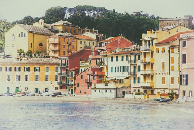 Le case dell'isola...