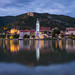 Calm evening at Durnstein after the storm