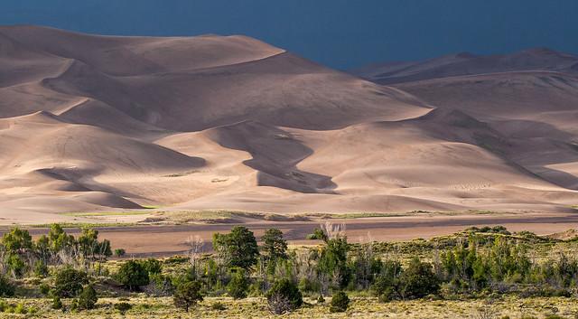 Side-lit Dunes