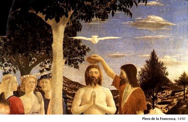 P. della Francesca, Bautismo de Jesús