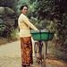 Khmer Woman w/Bike