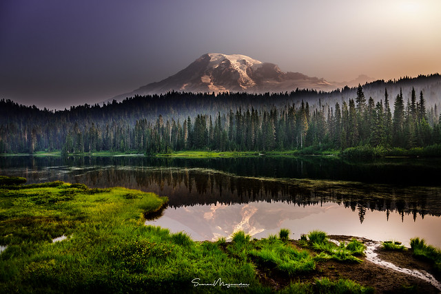Rainier Reflection!