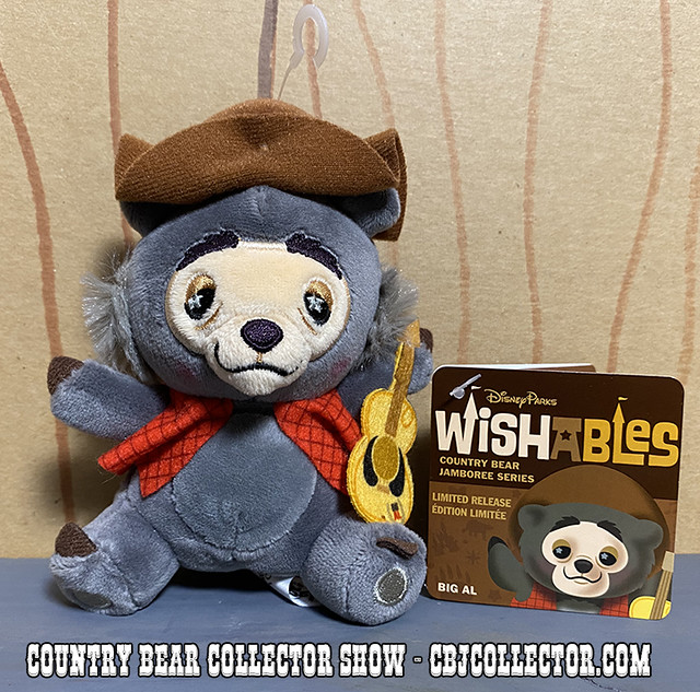 2020 Limited Release Disney Parks Big Al Wishable - CBCS #258