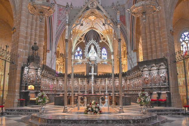 Nella cattedrale di Pamplona