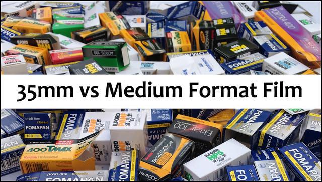 YouTube: 35mm vs Medium Format Film