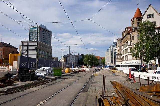 Baustelle Bahnhofplatz - 20200512 - I