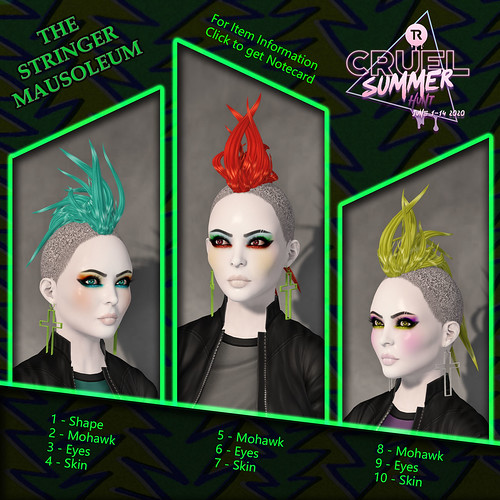 The Stringer Mausoleum - Cruel Summer Hunt KEY