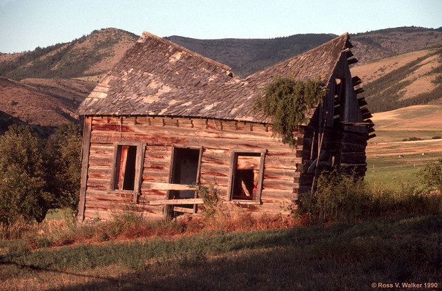 Pioneer Cabin, Mink Creek, Idaho