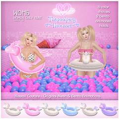 Kawaii Couture WOH Unicorn Floaties AD 1