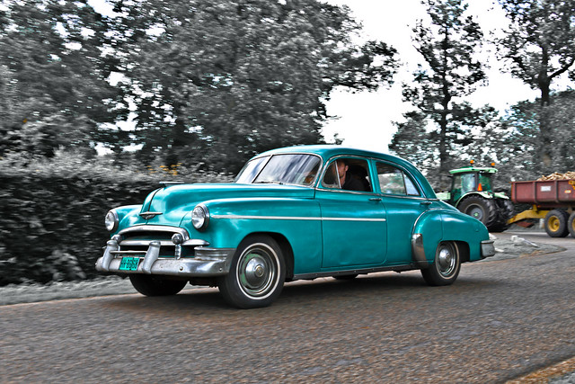 Chevrolet Styleline Special Sedan 1950 (6385)