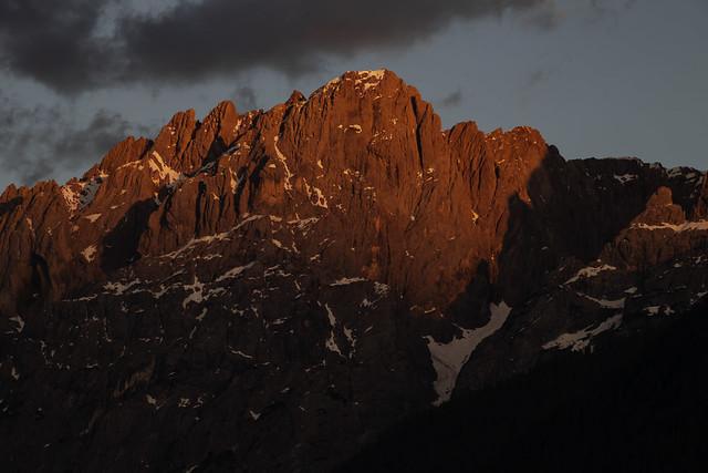 View from my balcony this evening :-) - Lienz - Osttirol - Austria [Explored #35]