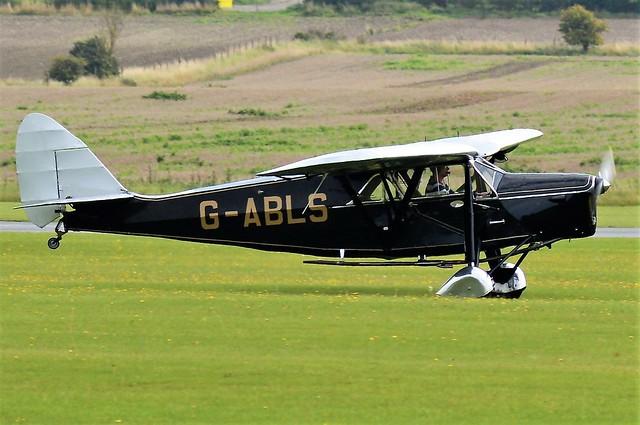 1931 De Havilland DH80A Puss Moth G-ABLS