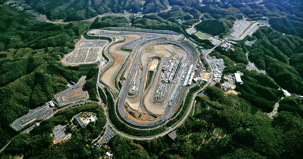 Twin Ring Motegi Top View