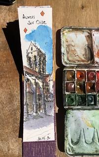 Vexin, Eglise de Auvers sur Oise