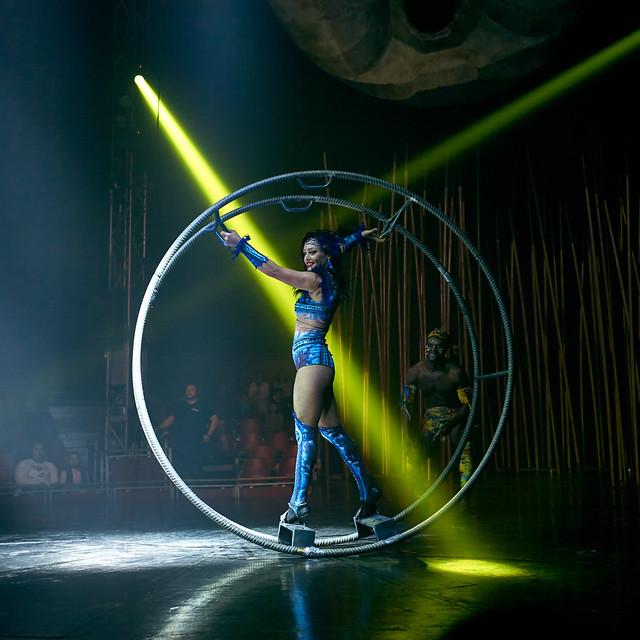 Salvaje, Circo Italiano