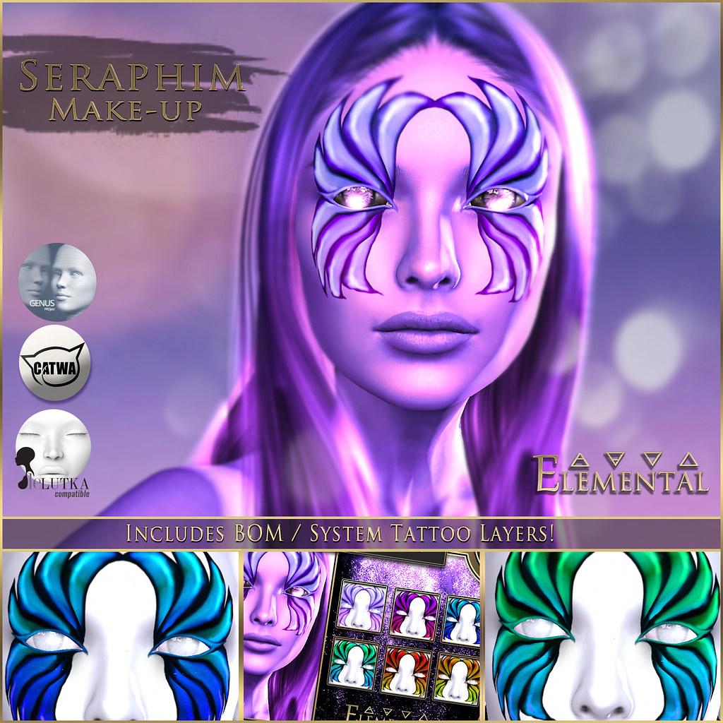 - Elemental - 'Seraphim' Makeup Advert