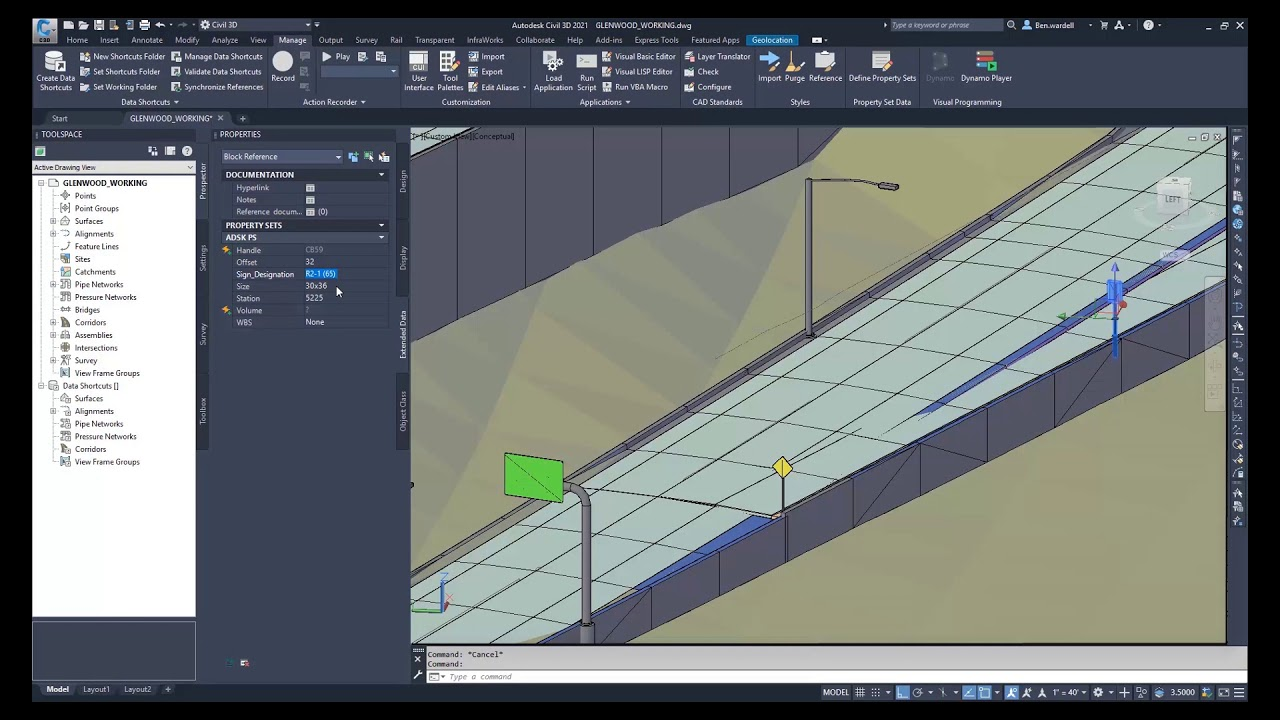 Working with Autodesk Civil 3D 2021.0.1 full license