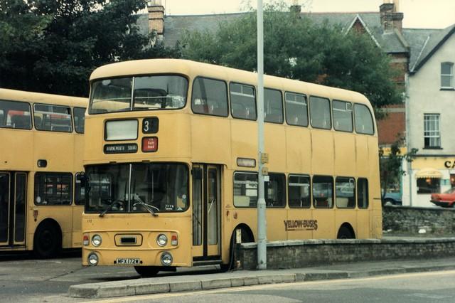 7 October 1989 Bournemouth MFX172W