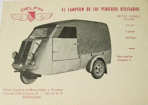 Motocarro Delfin