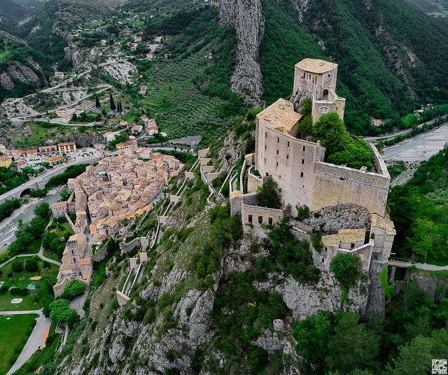 Entrevaux, Alpes-de-Haute-Provence, France