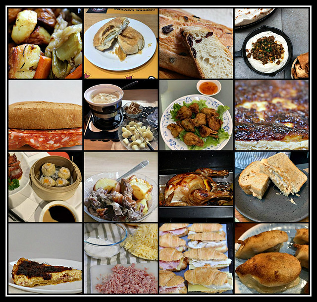Savoury Food/ Meals collage #50