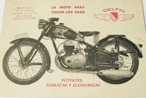 motocicleta Delfin