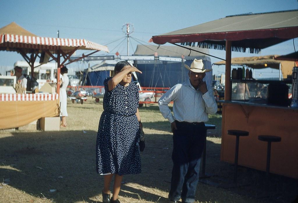Anadarko, OK The Lodge, Indian City, U.S.A. 1950s | eBay