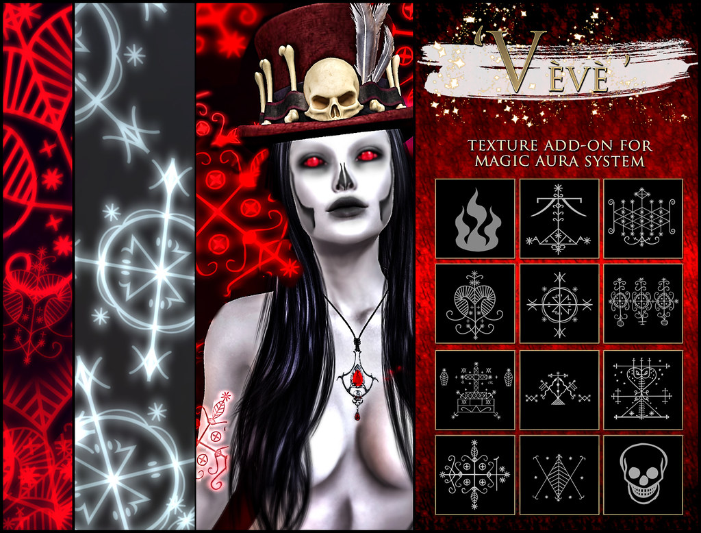 -Elemental' 'Veve' Texture Addon For Magical Aura