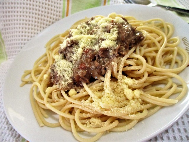 Payung beef spaghetti bolognese